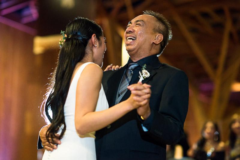 san francisco curiodyssey wedding father daughter dance