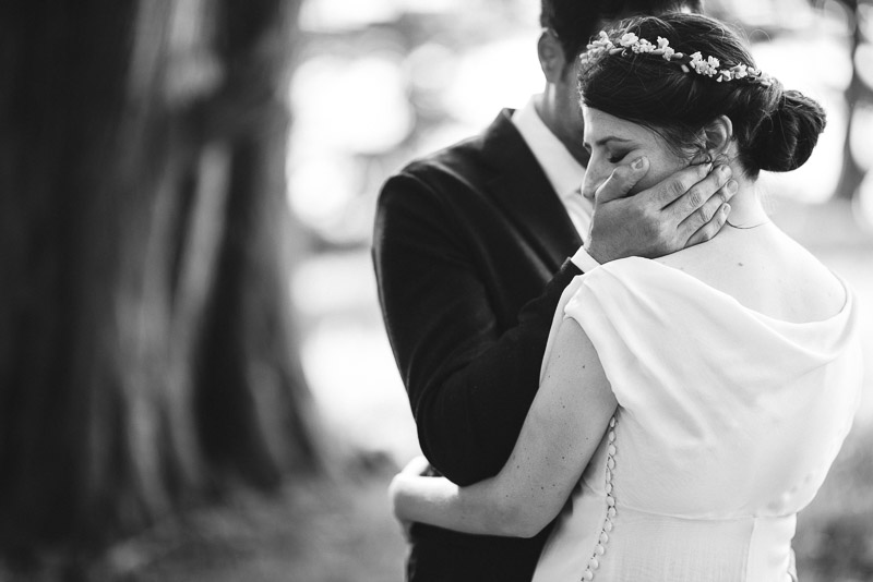 Strauss home ranch wedding couple detail moment