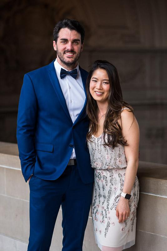 San Francisco City Hall Wedding Photography couple photo