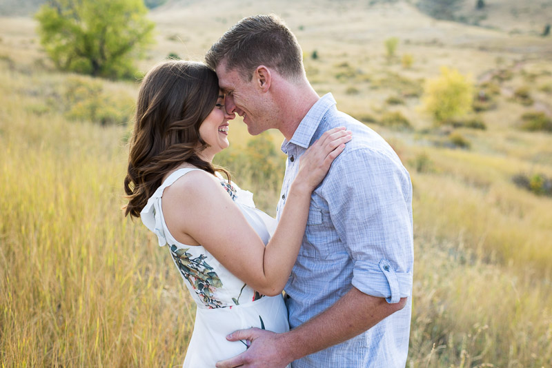 Denver Engagement Photography Morrison field