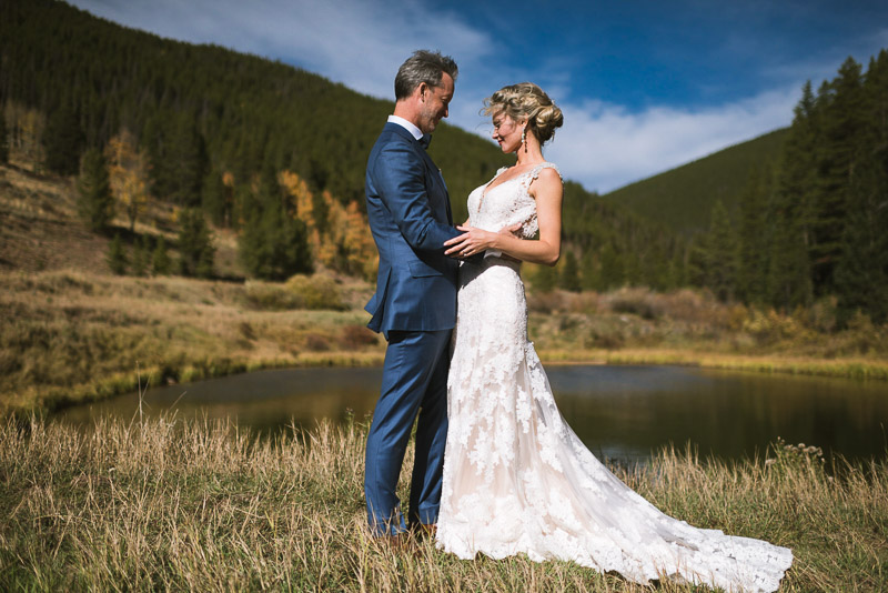 Vail Wedding Photography Camp Hale bride and groom