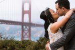 San Francisco City Hall Wedding Photographer golden gate bridge