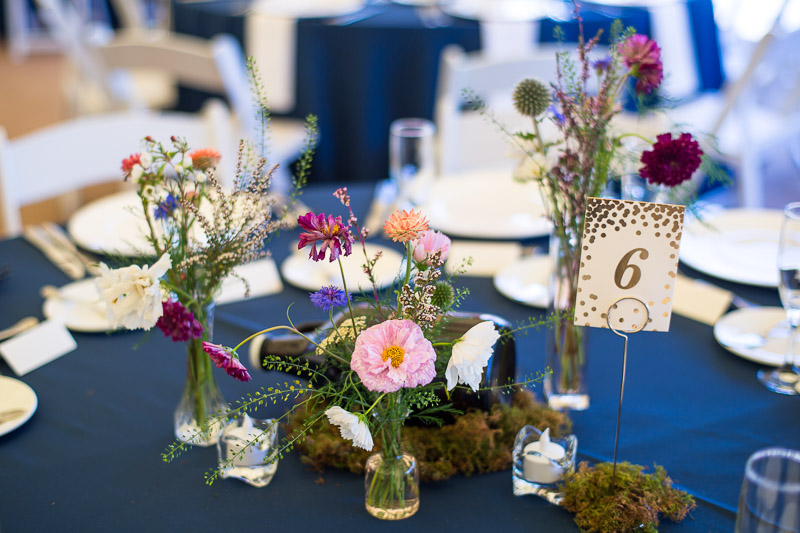 denver athletic club wedding photography table setting