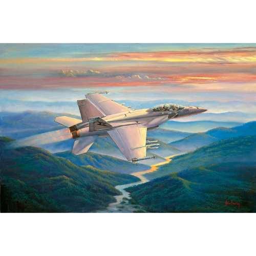 Sunset Sortie Jet Painting John Bradley