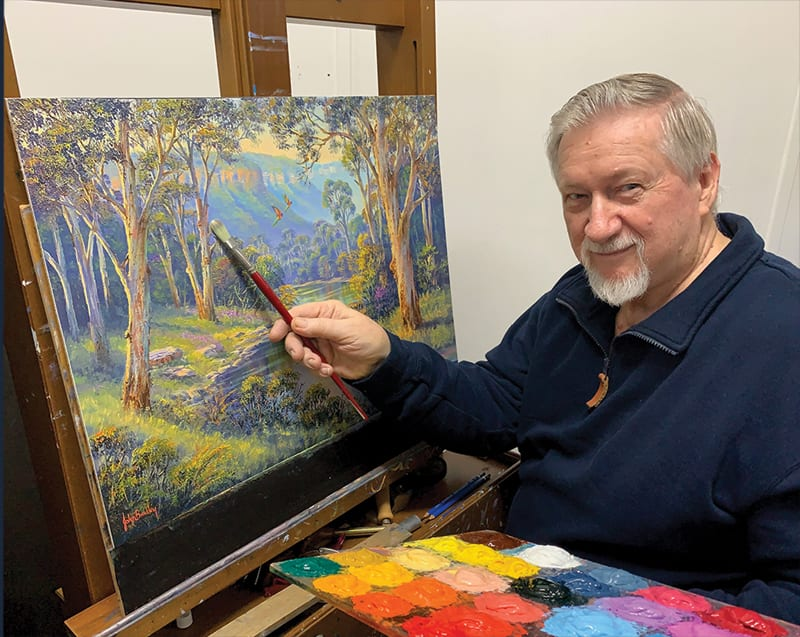 John Bradley MasterClass Landscape Art Class