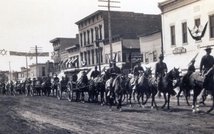 Historic DeWtt Main Street