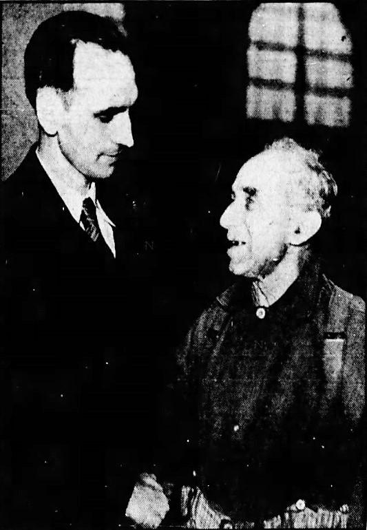Herman Boek and Dr Alton Smith