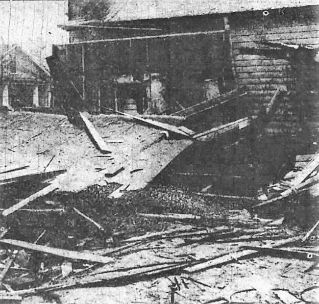 Destruction near Happys2