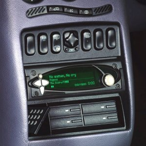 Empeg MP3 player in dash