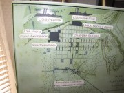 Location of troops and defenses in the Battle of Paducah.