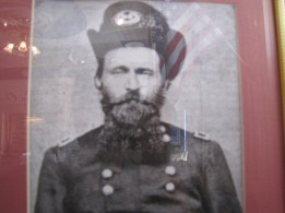 General Grant Portrait in the Lloyd Tilghman House & Civil War Museum.