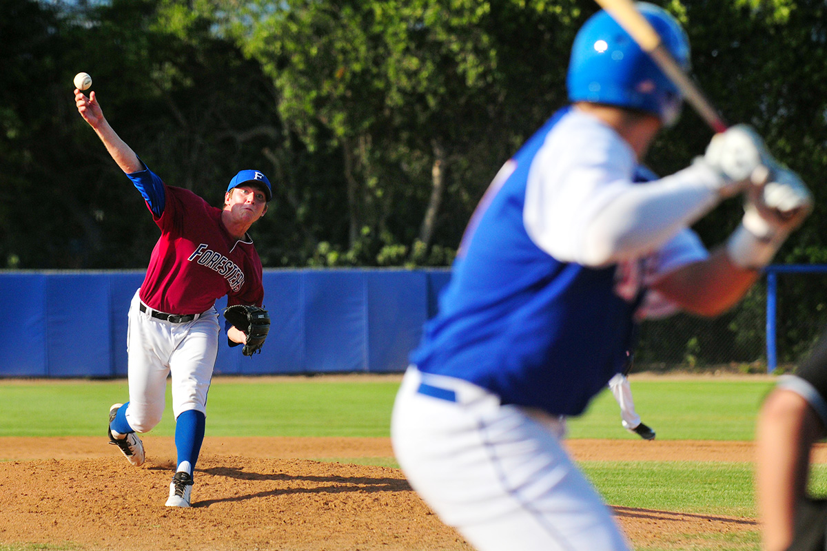 John Dvorak Photo - Santa Barbara Foresters Baseball