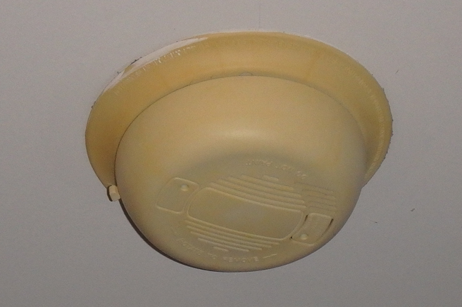 Old Smoke Alarm
