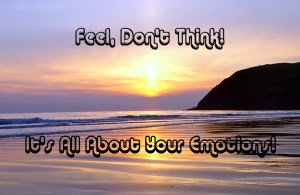 Feel Don't Think