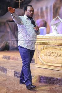 APOSTLE JOHN CHI OF THE ARK OF GOD'S COVENANT MINISTRY PRAYS FOR VIEWERS!!!