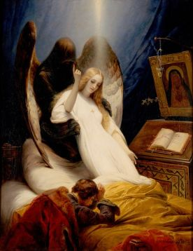Émile_Jean-Horace_Vernet_-_The_Angel_of_Death