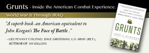 Grunts, Infantry, World War II, Iraq, John McManus