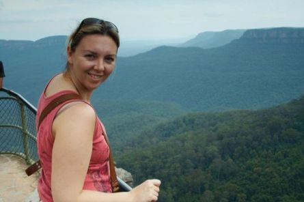 M'Lady At The Blue Mountains