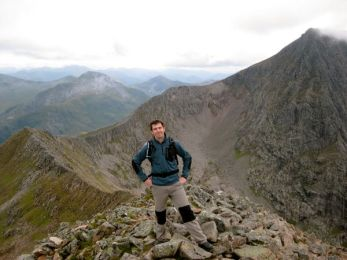 The Carn Mor Dearg Ridge