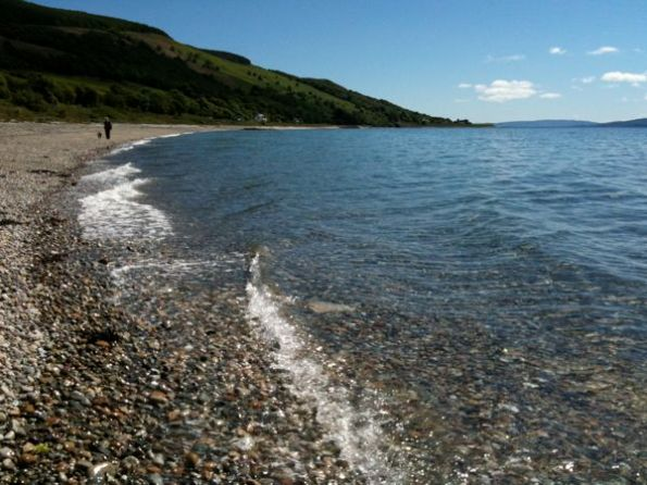 Pirnmill Beach