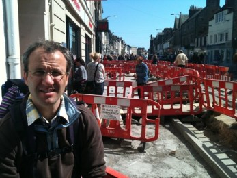 Scott And Some Roadworks