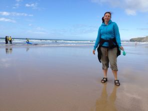 Rachael At Watergate Bay