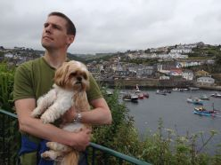 Manly Pose Above Mevagissey