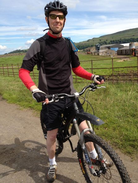 Me On My Mountain Bike Again!