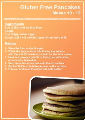 Pancake Day Flyer design