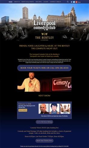 Liverpool comedy club website