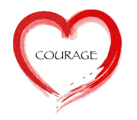 courage heart