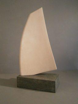 Portland Stone Sail Sculpture