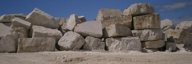 Portland Stone Quarry Blocks