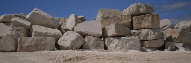 Portland Stone Quarry Blocks
