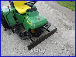 John Deere Plow » John Deere 1200A Sand Trap Rake Front Plow Infield Groomer center cultivator