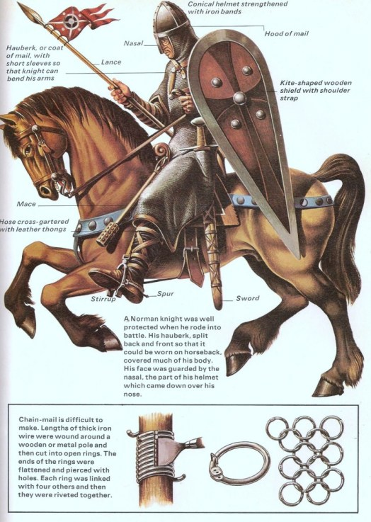 Norman knight mounted