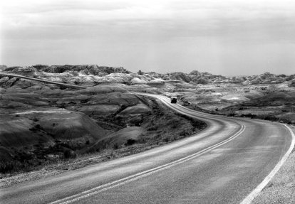 8-21-1988 Badlands of South Dakota-Tech V-210 Symmar S-K2-T-max 100-HC110 developer.