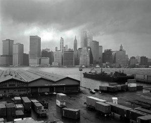 12-2-1982 New York City, from Brooklyn-Linhof Technika 4x5-Kodak Tri X Professional 4x5-Kodak HC110 developer.
