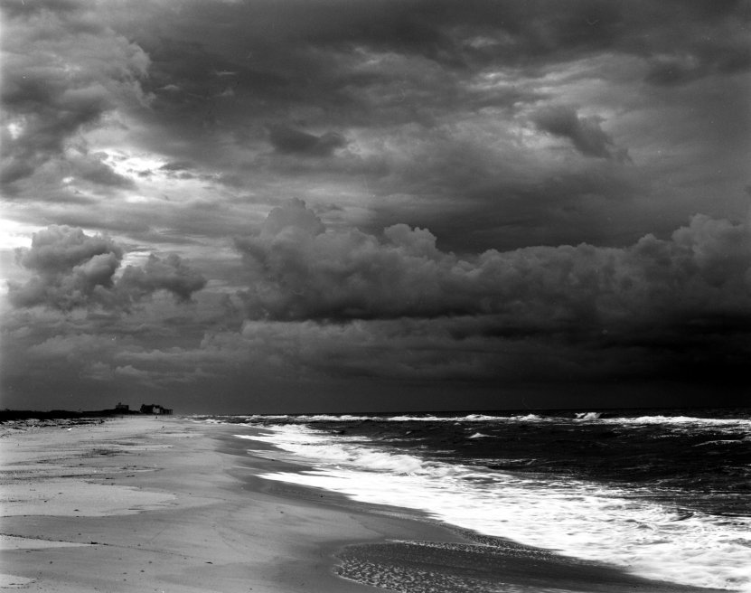 3-1992 Florida Gulf Coast-Linhof Technika 4x5 camera-120mm Schneider Super Symmar lens-Kodak Tmax 100 4x5 film-Kodak Tmax RS developer.