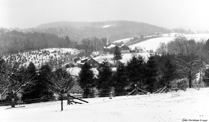 11-14-1995 Blue Ridge Parkway North Carolina-Linhof Technika V 4x5 camera-210mm Schneider Apo Symmar-Ilford HP5+ 4x5 film-PMK Pyro developer.