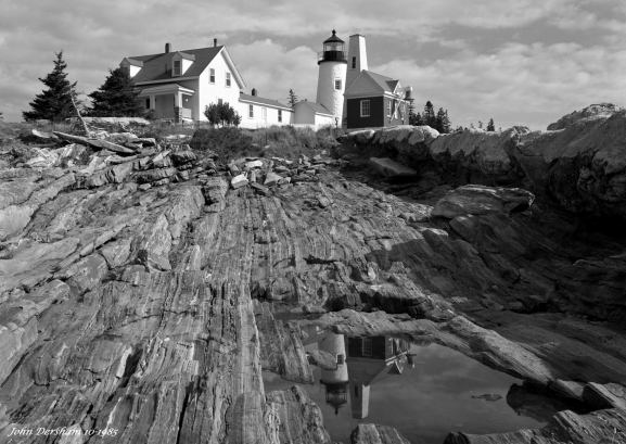 10-11-1985 Portland Head Light-Portland Maine-Toyo 8x10M with 5x7 back camera-210mm Schneider Symmar S lens-K2 filter-Kodak Tri X Pan Pro 5x7 film-Kodak HC110B developer.