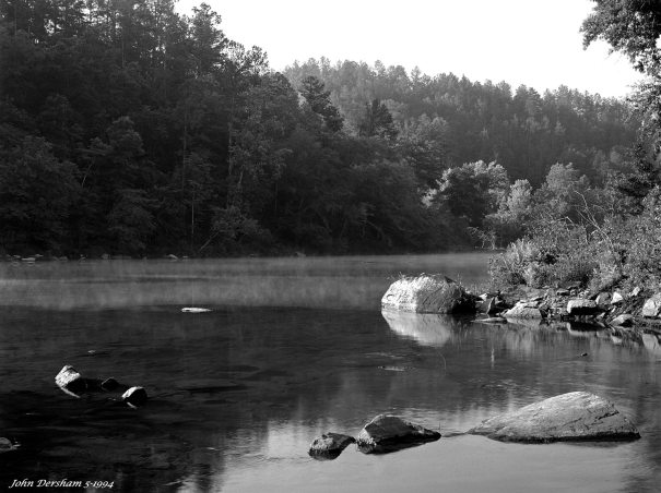 5-22-1994 Cahaba River-Alabama-Linhof Technika V-150mm Schneider Xenar lens-Kodak Super XX 4x5 film-PMK Pyro developer.