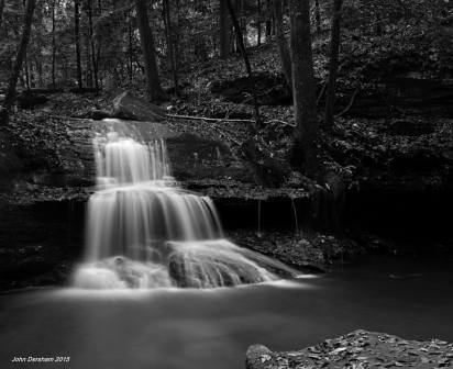 11-3-2015 Mystic Falls at Rock Bridge Canyon-Hodges Alabama-Toyo 8x10M camera-240mm Schneider G-Claron lens-15 sec. exposure-Efke R50 8x10 film-PMK Pyro developer.