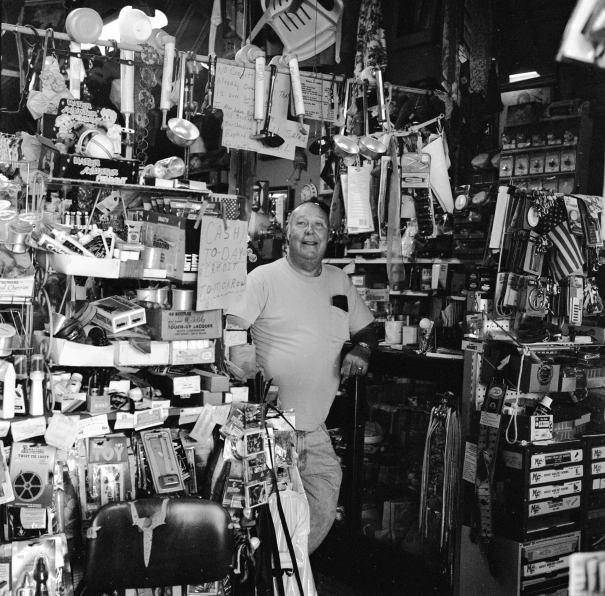 9-15-1998 Ko Jac at Ko Jac's General Store-Heflin Alabama-Hasselblad camera-80mm Zeiss Planar lens-Ilford HP5+ 120 film-PMK Pyro developer.