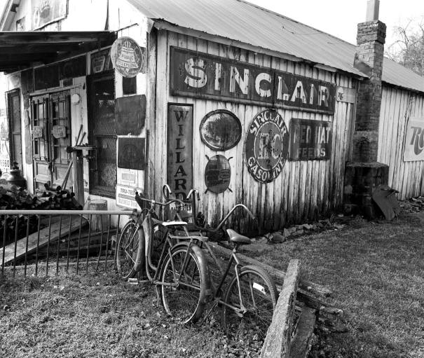 3-28-2010 Goodletsville Tennessee-Closed after a murder here in 1937 and never reopened-Pentax 6x7 camera-55mm lens-Ilford HP5+ 120 film-PMK Pyro developer.