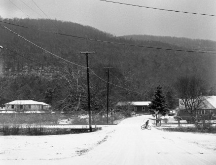 1-2001 Collbran Alabama-Collbran Gap up Lookout Mountain-Pentax 6x7 camera-75mm lens-Ilford HP5+ 120 film-Kodak Xtol developer.