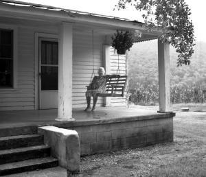 9-20-1998 Hattie Sizemore-Sizemore farm-near Attalla Alabama-Hasselblad camera-80mm Zeiss Planar lens-Kodak Tmax 100 120 film-PMK Pyro developer.