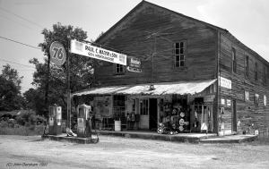 7-31-1991 Locust Fort Alabama-Marsh's General Store-Toyo 8x10M camera-210mm Schneider Apo Symmar lens-Kodak Tmax 400 8x10 film-Kodak Tmax RS developer.