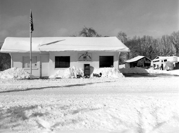1-24-2016 Keavy Kentucky Post Office-Crown Graphic 4x5 camera-135mm Schneider Xenar lens-Efke R50 4x5 film-Kodak Xtol developer.