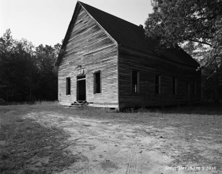5-6-2016 Edna Hill Church-Lookout Mountain Alabama-built by William C Hill in 1907 closed in the 1950's-Wista DX 4x5 camera-90mm Schneider Super Angulon lens-Efke R50 4x5 film-PMK Pyro developer.